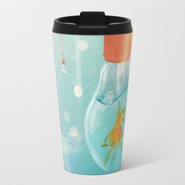 Ideas and Goldfish ... Travel Mug