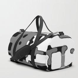 jitter, b&w 8 Duffle Bag
