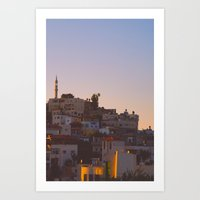 palestine Art Prints featuring Palestine by ear2ear