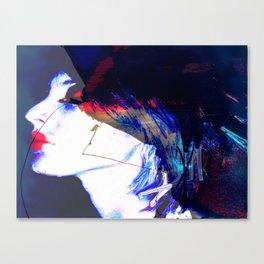 Make up diary Canvas Print