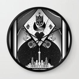 Shanghai Coup d'Etat Wall Clock
