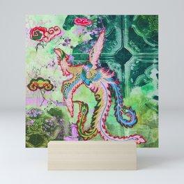 Jade Pheonix 1 Mini Art Print