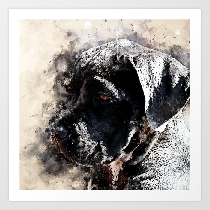 Cane Corso Italian Mastiff Dog Ws Art