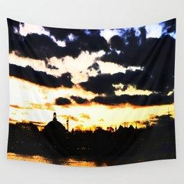 Sunrise Djurgården Stockholm 1 Wall Tapestry