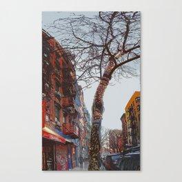 Clinton Street Xmas Canvas Print