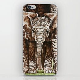 Baby elephant iPhone Skin