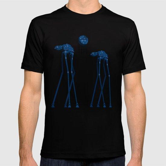 Dali's Mechanical Elephants - Blue Sky T-shirt