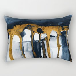 Liquid Hills Rectangular Pillow