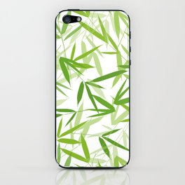Bamboo Leaves iPhone Skin