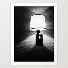 switch the light on Art Print