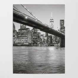 After Sunset in Brooklyn Poster