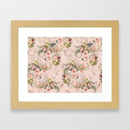 Pardon Me There's a Bunny in Your Tea Framed Art Print