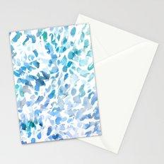 Petal Soft Blue Stationery Cards