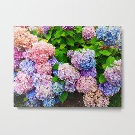 Bouquet of Colors Metal Print