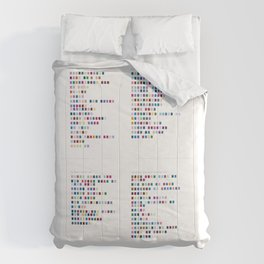 Daft Punk Discography - Music in Colour Code Comforters