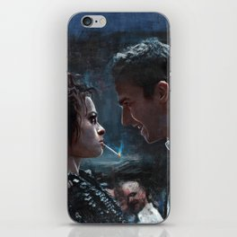 The Confrontation With Marla Singer - Fight iPhone Skin
