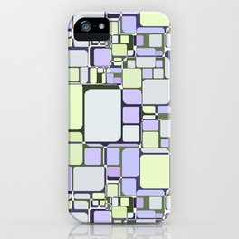 Abstract geometric pattern.6 iPhone Case