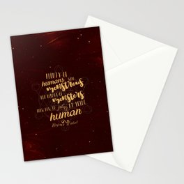 Vicious Quote Stationery Cards