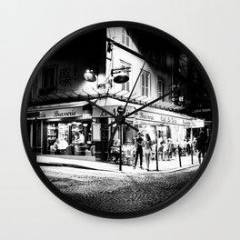 Café le Nazir (Montmartre; Paris) Wall Clock