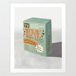 A Box of Love Art Print