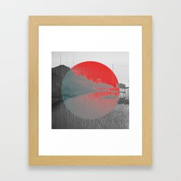 Terraform Framed Art Print
