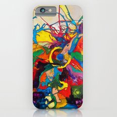 The Disintegration of a Highly Colored Fish Eye iPhone 6s Slim Case