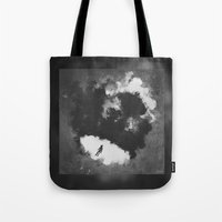 portal Tote Bags featuring Portal by Stephan Brusche