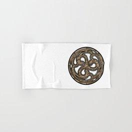 Bronze Medallion Hand & Bath Towel