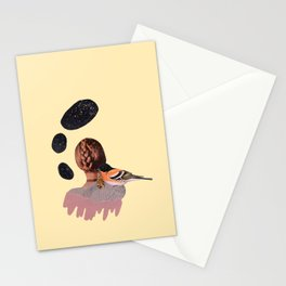 all at once, disappeared Stationery Cards
