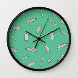 Quartz (Green) Wall Clock
