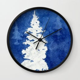 Winter Frost Wall Clock