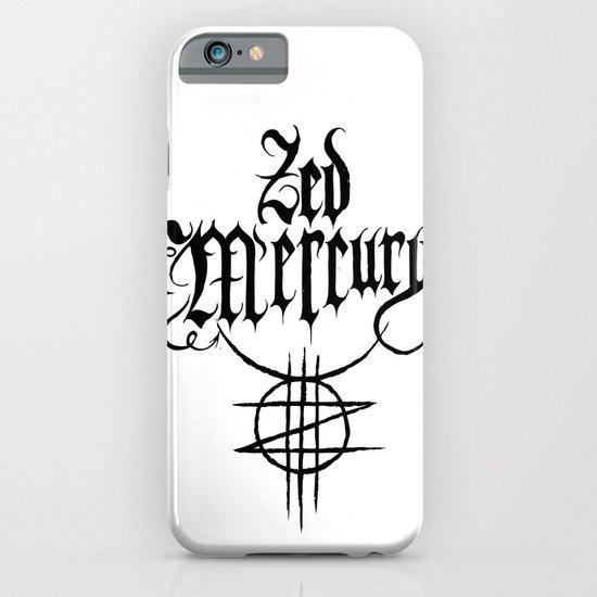ZED MERCURY: PSYCHOPOMP LOGO - White iPhone & iPod Case
