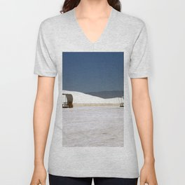 Picknick At White Sands Unisex V-Neck