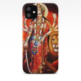 Hindu Durga 8 iPhone Case