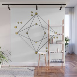 Astronomical Golden and black, Wall Mural