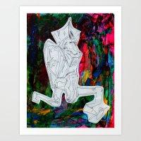 kermit Art Prints featuring Kermit by Masonjohnson
