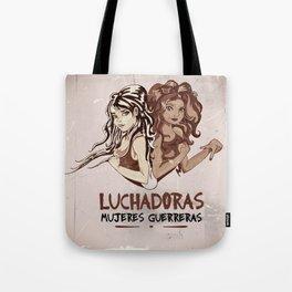 Luchadoras Tote Bag