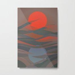 Active Passive Metal Print