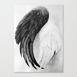 On Wings Canvas Print