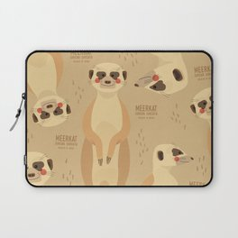 Meerkat, African Wildlife Laptop Sleeve