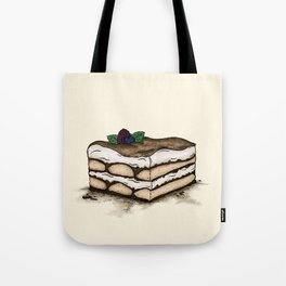 T is for Tiramisu Tote Bag