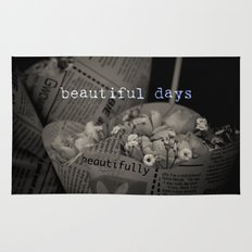 beautiful days Rug