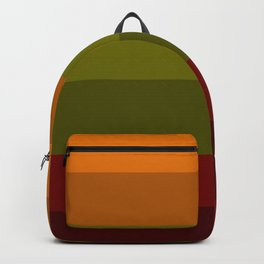 Cool Autumn Leaves - Color Therapy Backpack