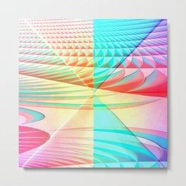Pattern pastel Metal Print