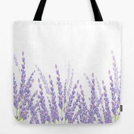 Lavender in the Field Tote Bag