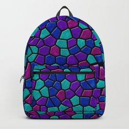 Jewel Tones Mosaic I Backpack