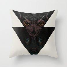 Night Eyes Throw Pillow