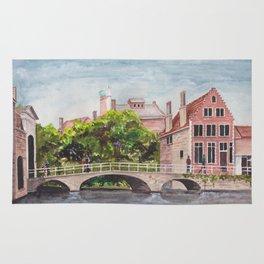 Bruges Bridge Rug