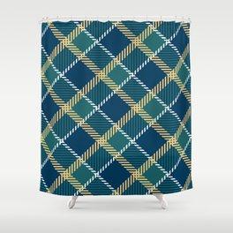 Saint Patrick's tartan cloak. Shower Curtain