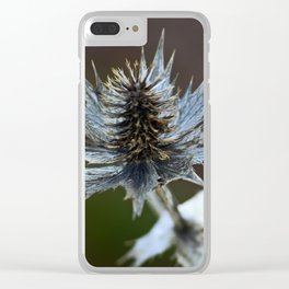 pretty prickly Clear iPhone Case
